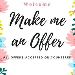 Make me an offer! 🤗